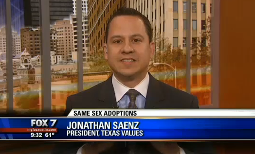 WATCH: Texas Values president attacks Rep. Anchia's gay adoption bill