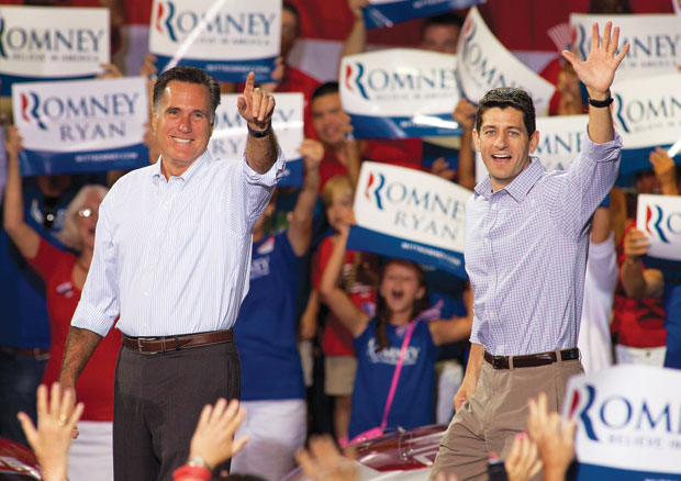 GOP makes Romney look sane