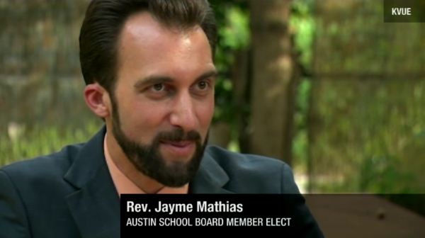 Ex-Roman Catholic priest becomes Austin's 1st out school board member