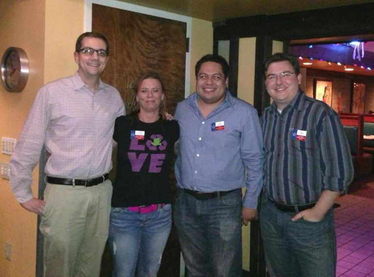 Omar Narvaez elected to 3rd term as president of Stonewall Democrats