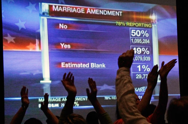 When will marriage arrive in Texas?