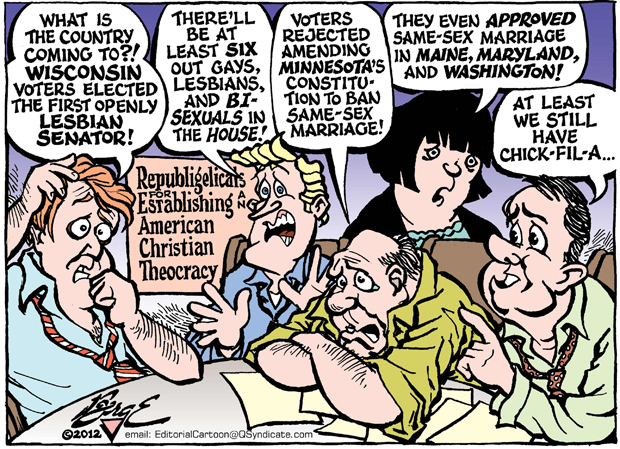 Editorial Cartoon • 11.16.12