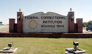 Federal inmate at Seagoville pleads guilty to anti-gay hate crime