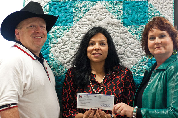 IGRA gives almost $6K to National Ovarian Cancer Coalition