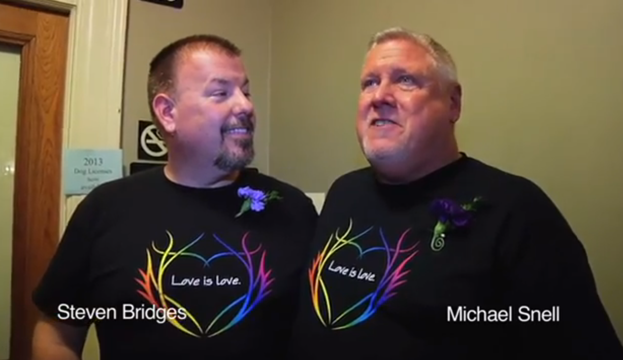 WATCH: Marriage arrives in Maine