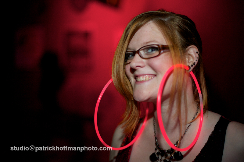 WM_Red_Dress_Party_2012_Girl_With_Glowsticks_Through_Gaged_Ears_Copyright_2012_Patrick_Hoffman_All_Rights_Reserved  1092