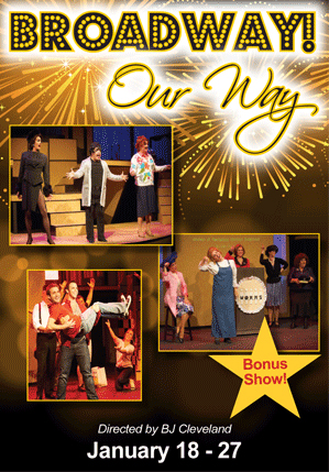 "Uptown Players presents ""Broadway Our Way"""