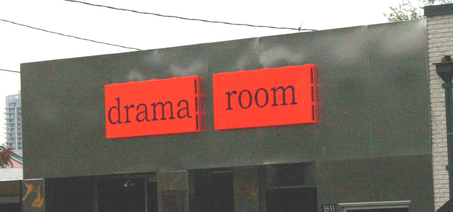 The Drama Room is closed