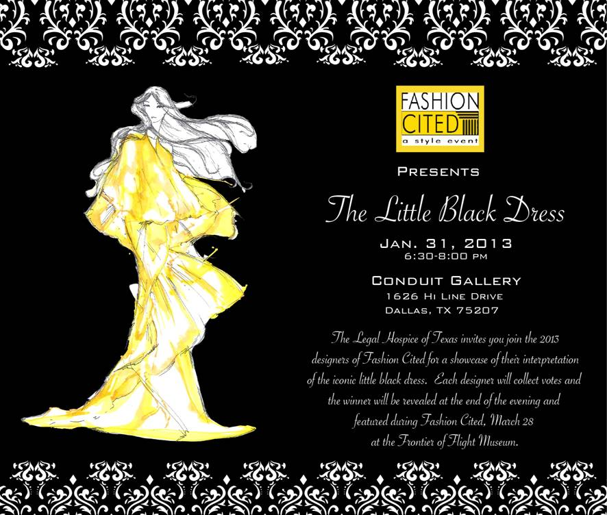 Fashion Cited: The Little Black Dress at Conduit Gallery