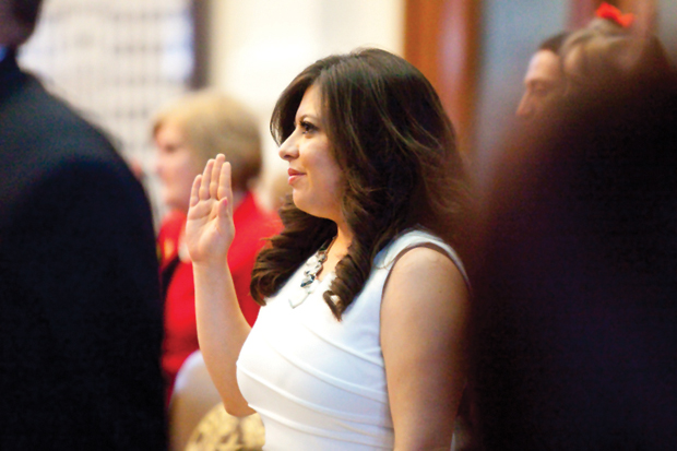 Rep.Mary Gonzalez sworn in