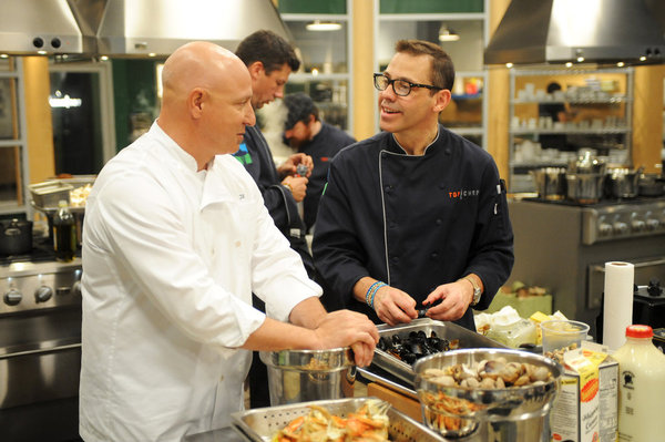 Tesar out on 'Top Chef'