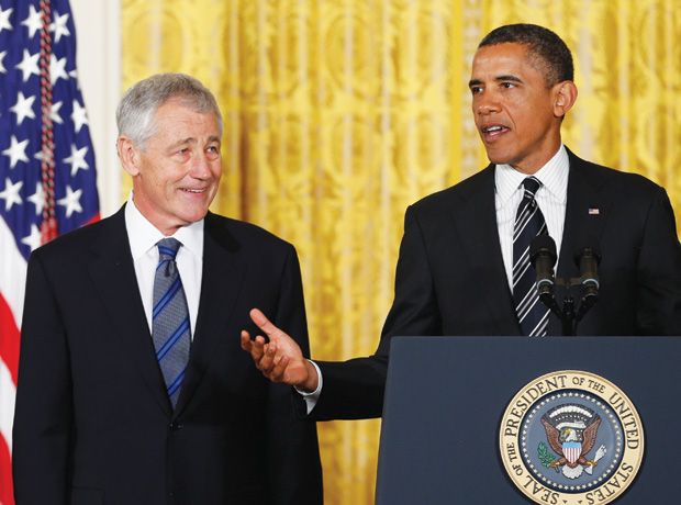 Hagel faces bipartisan scrutiny on gay rights