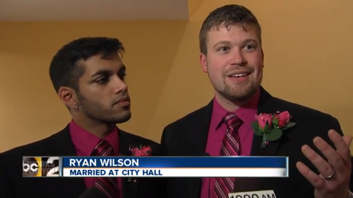 WATCH: Maryland rings in the new year with same-sex weddings