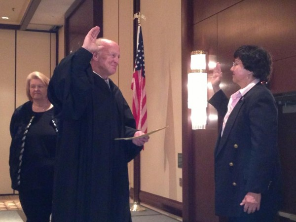PHOTO: Dallas County Sheriff Lupe Valdez sworn in to 3rd term