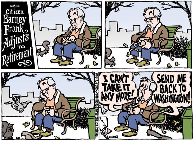 Editorial Cartoon • 01.18.13