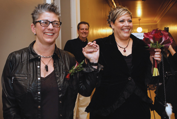 As weddings begin in 2 states, 3 more eye marriage equality