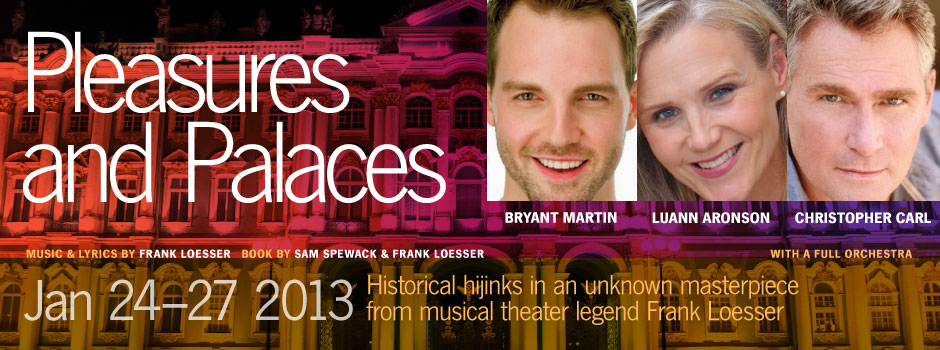 """Pleasures and Palaces"" opens at Lyric Stage"
