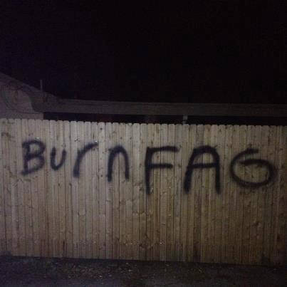 Burn fag