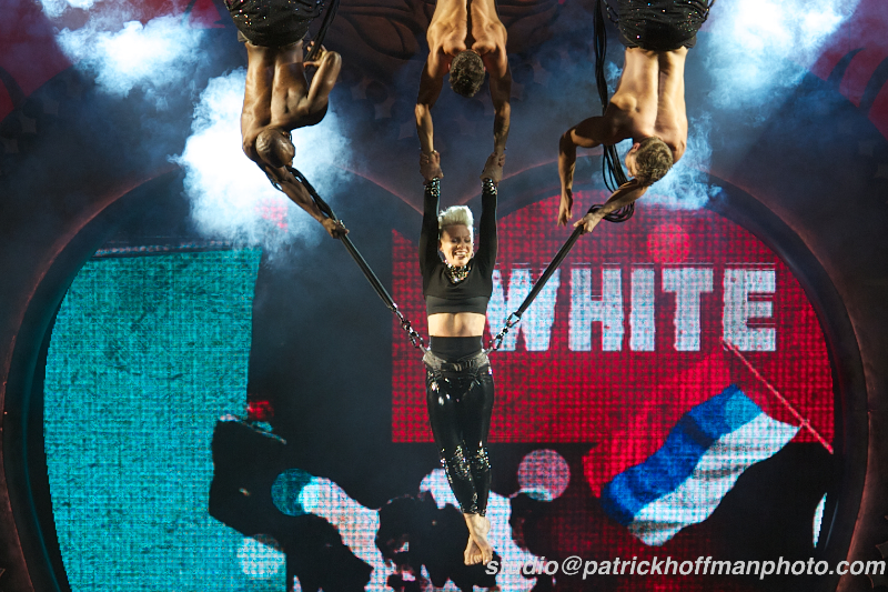 REVIEW AND PHOTOS: P!nk at American Airlines Center on Friday