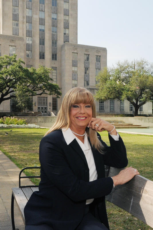 Houston's Jenifer Pool vies to become 1st transgender elected official in Texas