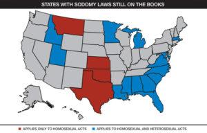 Sodomy-States