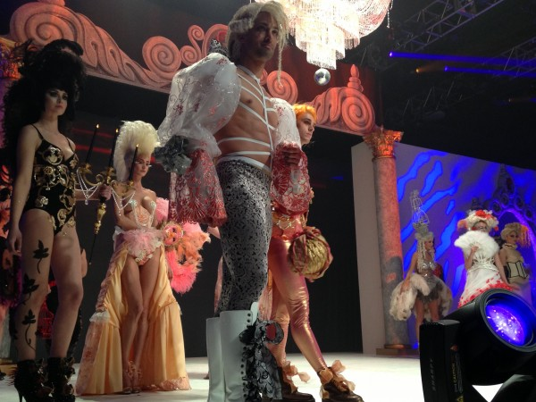 Scenes from DIFFA's runway show