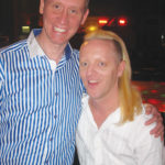 Randy and Joe at Best Friends Club.
