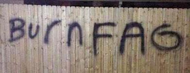 Hate knows no fences