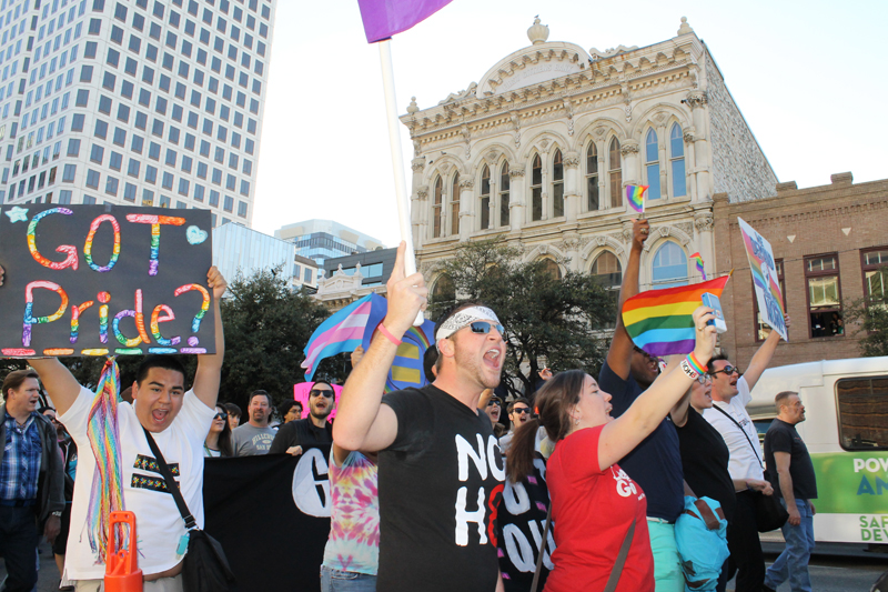 PHOTOS: Advocates march on Austin before Lobby Day