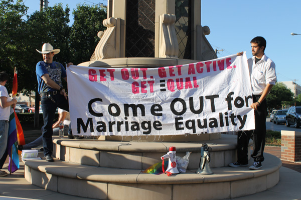 Marriage equality rallies planned across TX before high court takes up issue
