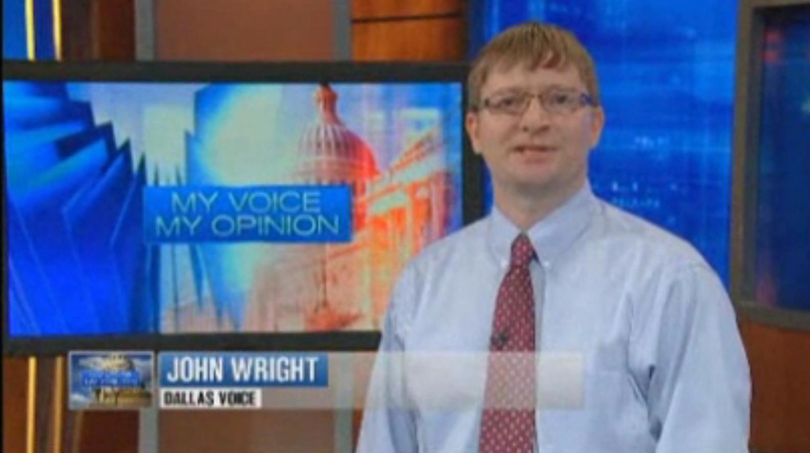WATCH: Dallas Voice senior editor goes all up 'Inside Texas Politics'