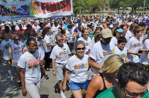 21st annual Tarrant County AIDS Walk steps off Saturday at Trinity Park