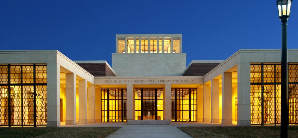 The Bush Presidential Center: Shiny on the outside, empty on the inside
