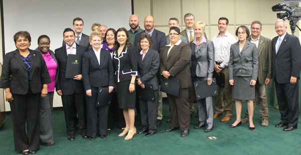 13 LGBT Dallas employees honored for participating in 'It Gets Better' video