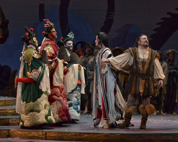 The beautiful production at Dallas Opera. Photo by Karen Almond