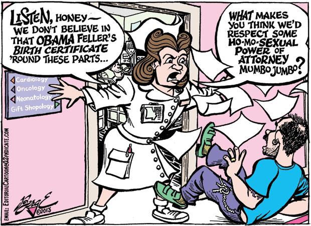 Editorial Cartoon • 04.19.13