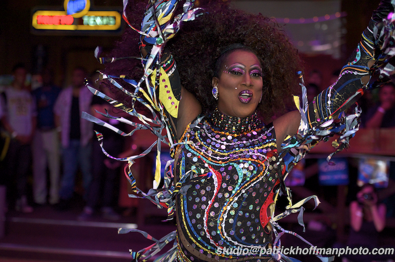 Scenes from the Miss Gay USofA Classic Pageant at the Round-Up