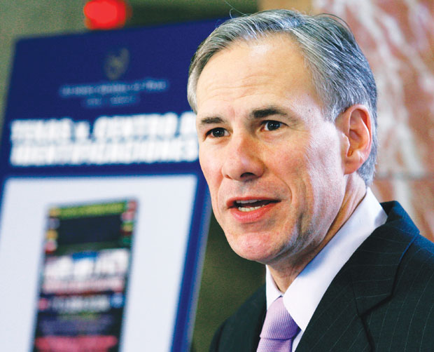 Texas AG Greg Abbott: DP benefits are illegal