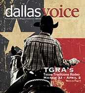 Dallas Voice Cover 03-31-17