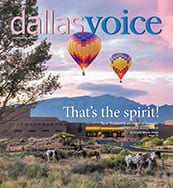 Dallas Voice Cover 06-30-17