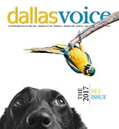 Dallas Voice Cover 07-14-17