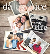 Dallas Voice Cover 07-28-17