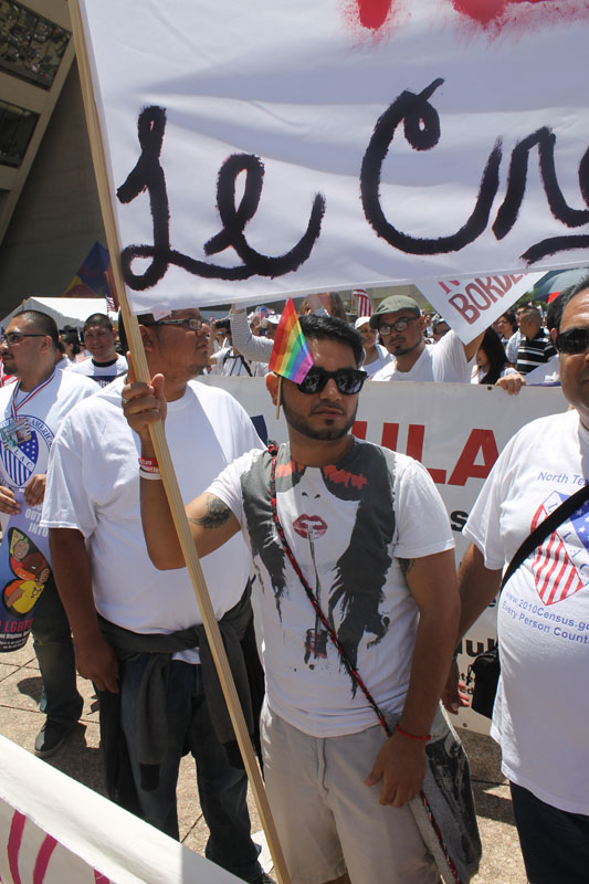 PHOTOS: LGBT group joins March for Citizenship in Dallas