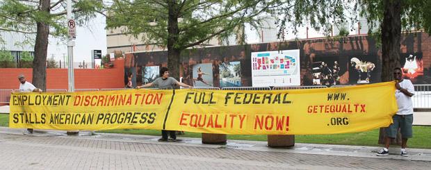 Suit accuses Exxon of anti-gay discrimination