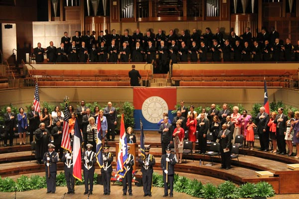 Turtle Creek Chorale performs at Dallas City Council swearing-in ceremony