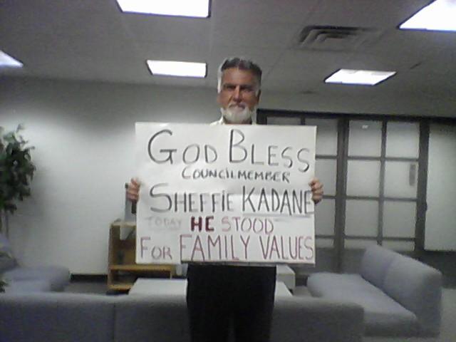 Sheffie Kadane's anti-gay remarks earn him praise from Rich Sheridan