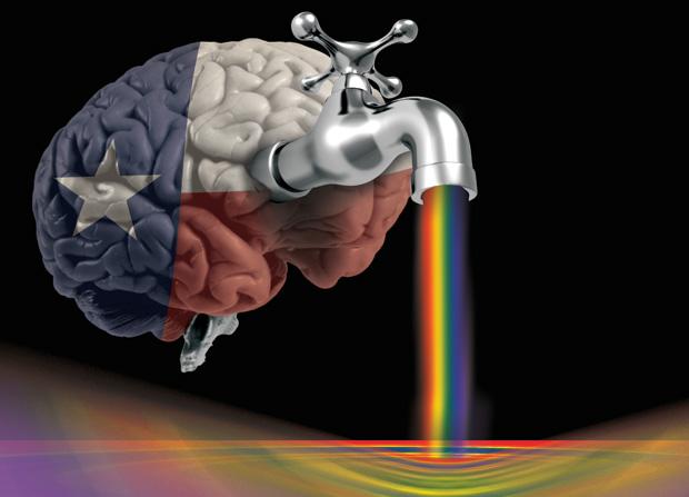 The big gay Texas brain drain