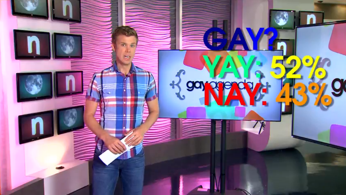WATCH: CW33's 'Gay Agenda'