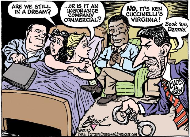 Editorial Cartoon • 08.16.13