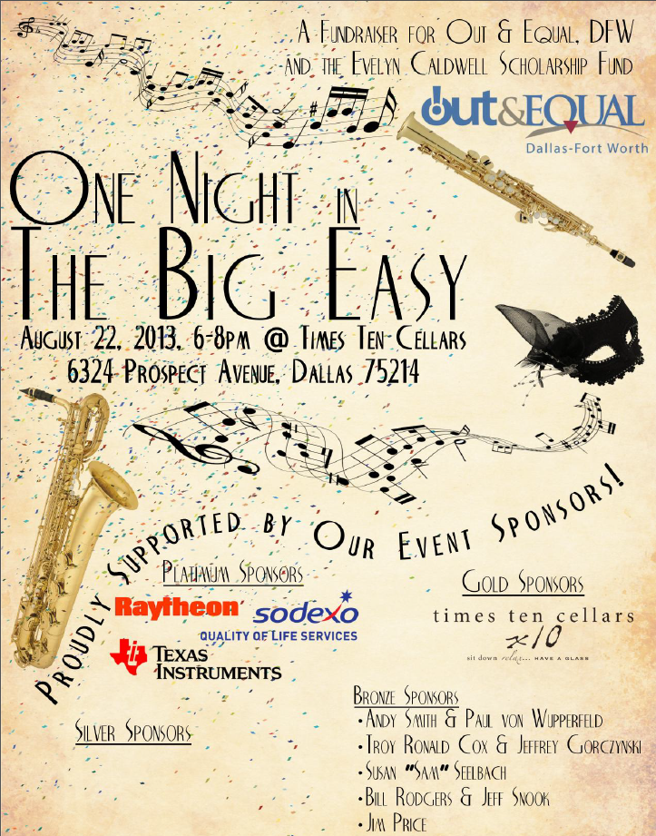 Out & Equal event to raise funds for workplace summit scholarship